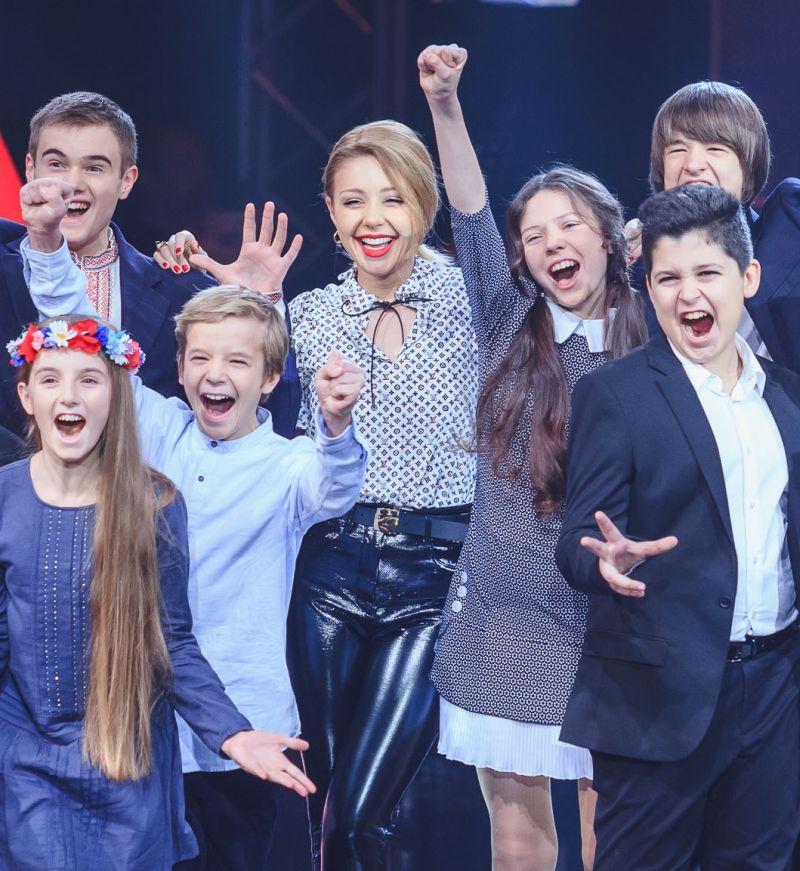 Тина Кароль стала многодетной матерью благодаря шоу Голос.Діти