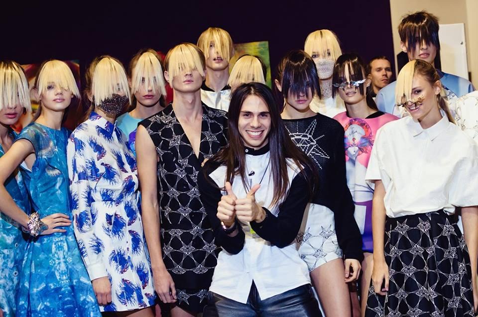 Жан Грицфельдт на Ukrainian Fashion Week