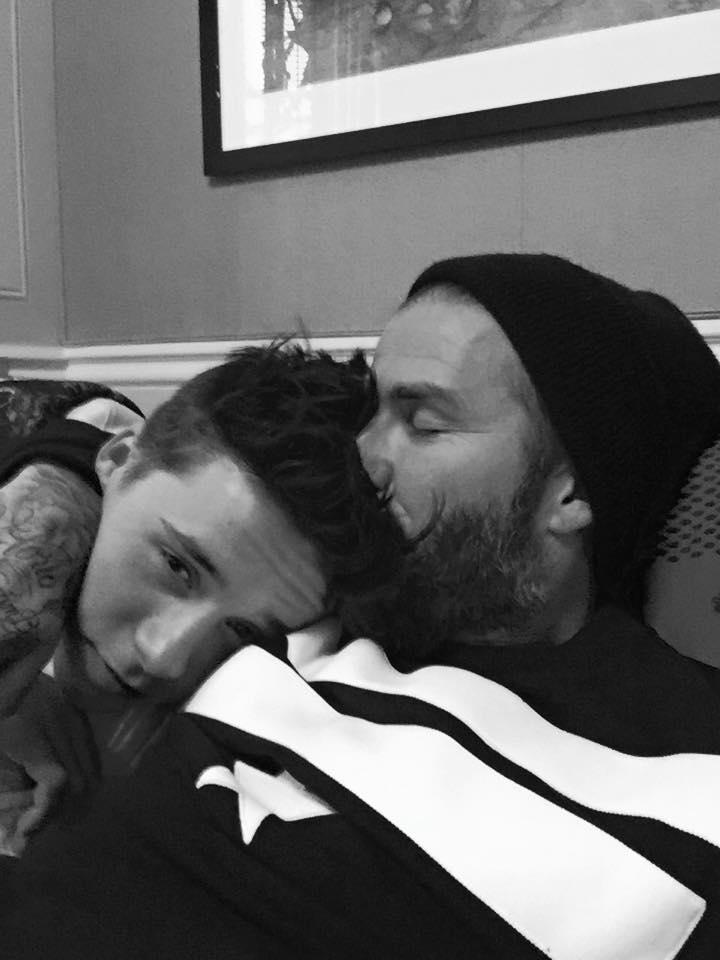 Дэвид Бекхэм поздравил с 16-летием своего сына
