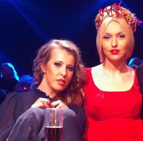 Оля Полякова написала письмо Ксении Собчак