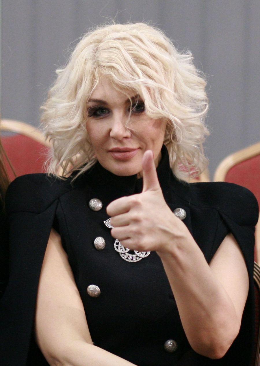 Светлана Вольнова на показе Жана Грицфельдта в рамках Ukrainian Fashion Week 2015