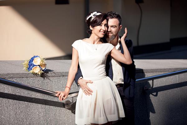 Анна Завальская и ее муж Дмитрий Саратский