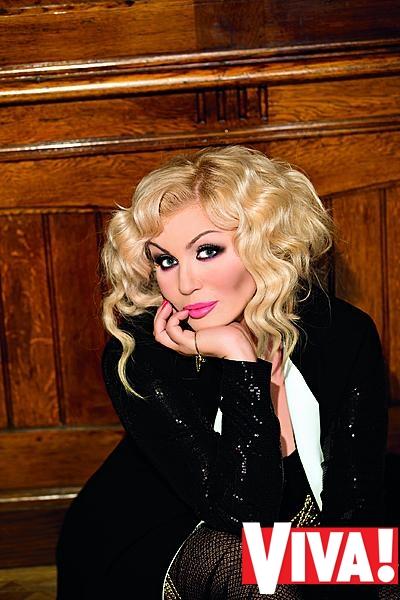 Ирина Билык в фотосессии для журнала Viva!