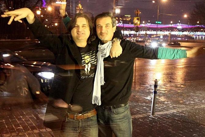 Отар Кушанашвили и его брат Роман Кушанашвили