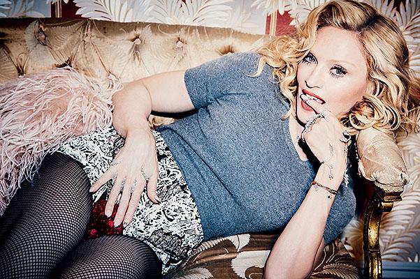 Мадонна снялась в сексуальной фотосессии для модного глянца