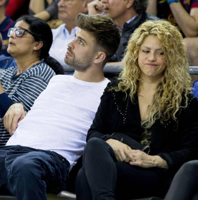 Фотофакт: Шакире не нравится спортивное увлечение Жерара Пике