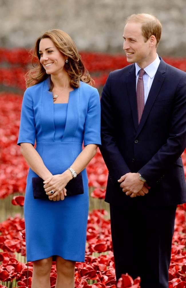 Принц Уильям и беременная Кейт Миддлтон угостили поклонников завтраком