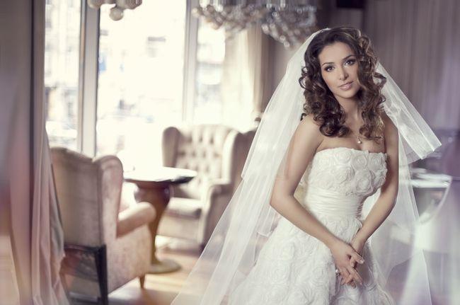 Злата Огневич в свадебном платье
