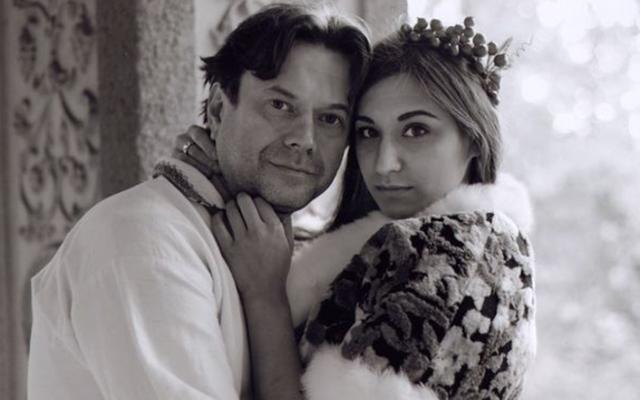 Остап Ступка и его жена Дарья