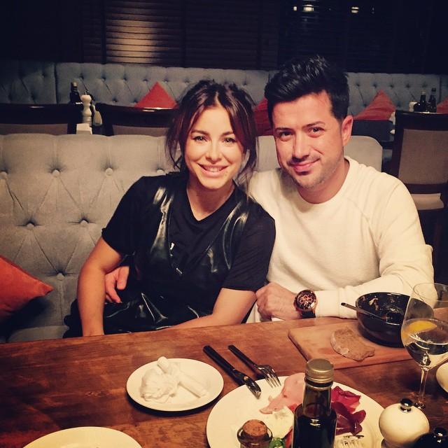 Ани Лорак и ее муж Мурат