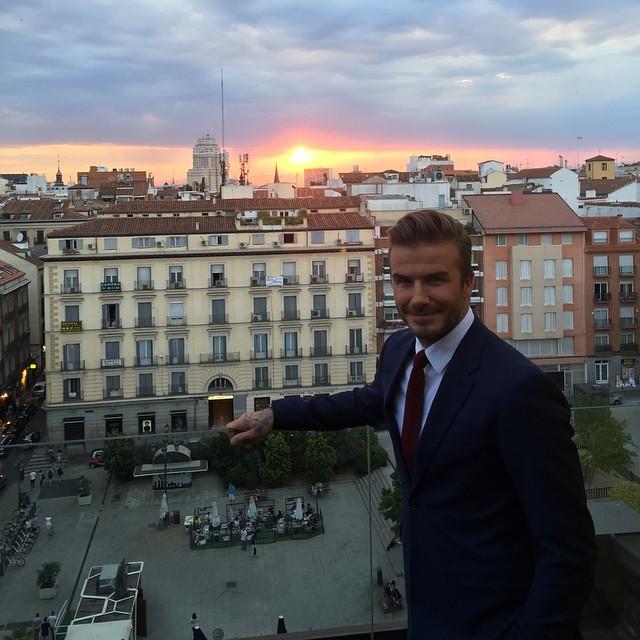 """Дэвид Бекхэм: """"Я так счастлив вновь вернуться в Испанию!"""""""