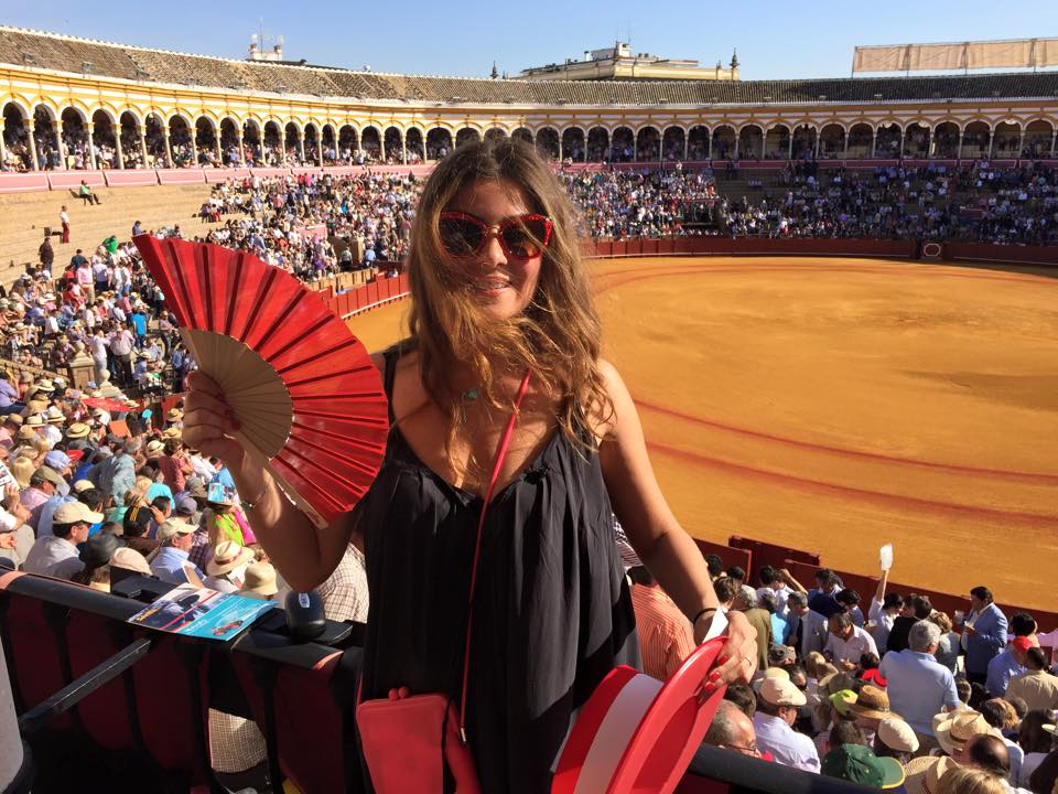 Жанна Бадоева в Испании