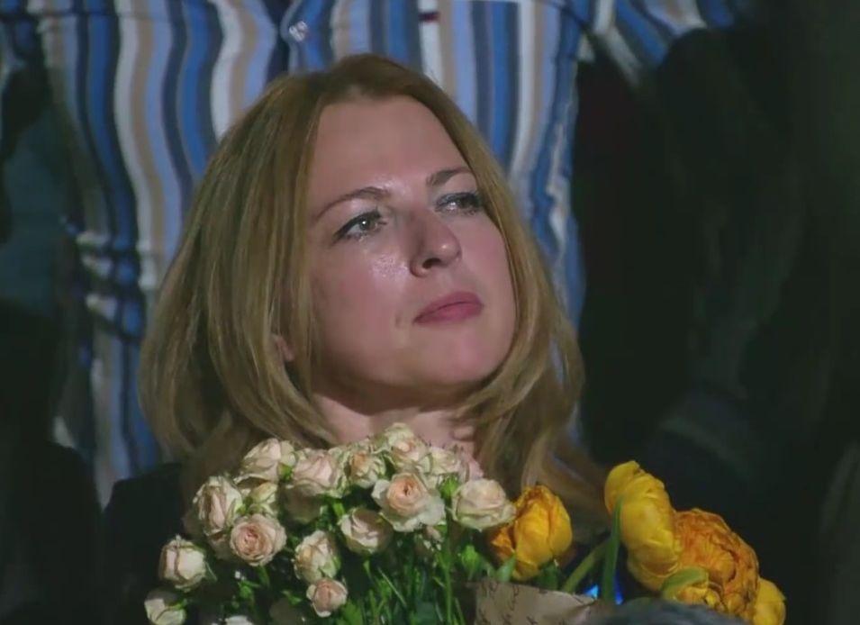 Жена Кузьмы Скрябина Светлана