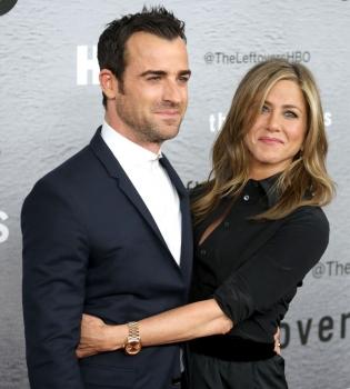 СМИ: Дженнифер Энистон и Джастин Теру тайно поженились