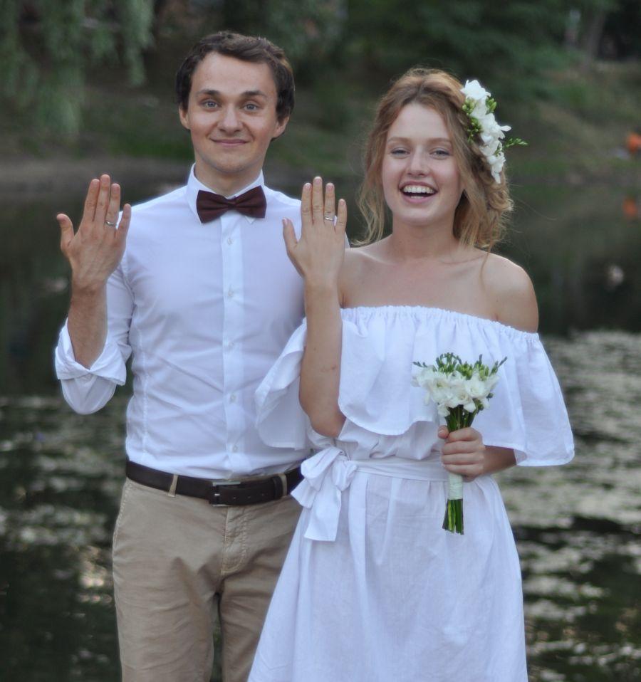 Константин Войтенко и Валентина Маринина поженились