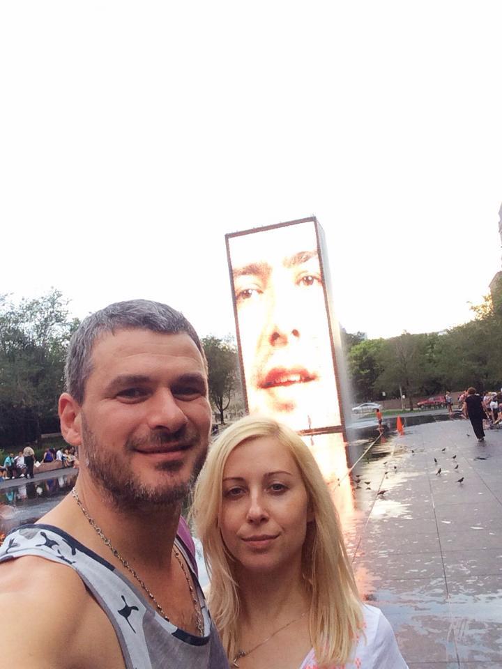Тоня Матвиенко и Арсен Мирзоян в Америке