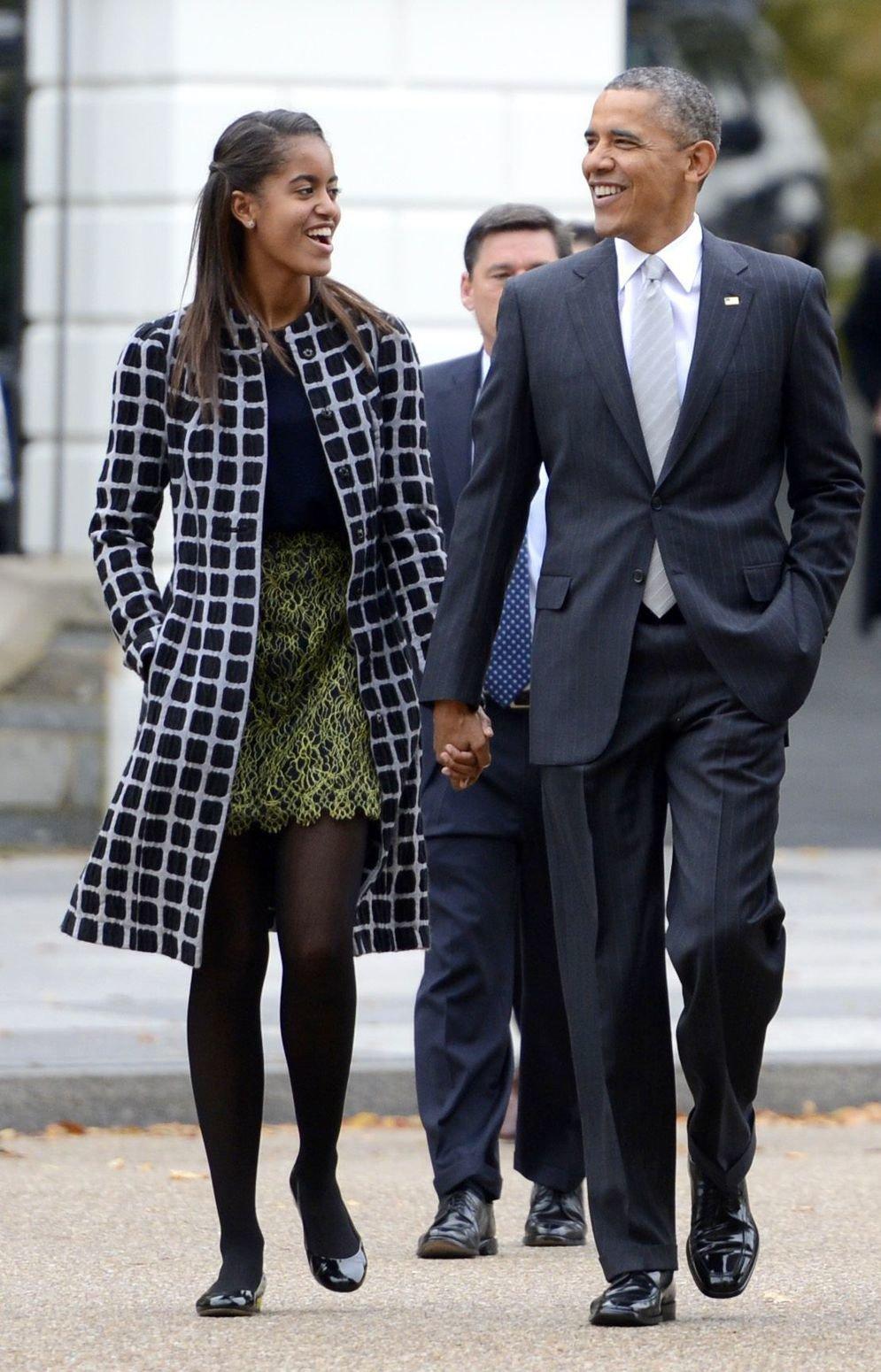 Малию Обаму назвали самой модной
