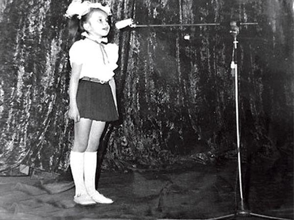 Какими звезды были в детстве