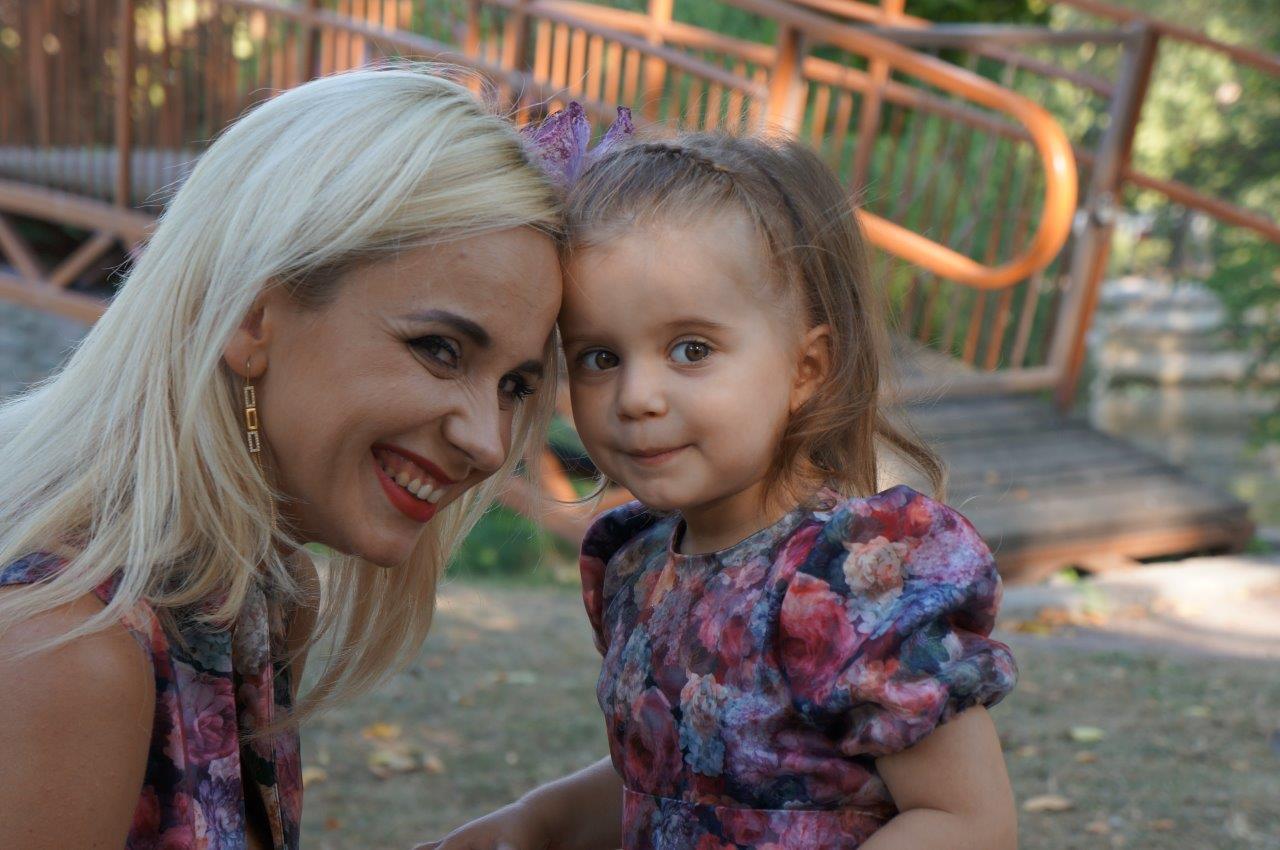 Лилия Ребрик и ее дочь Диана