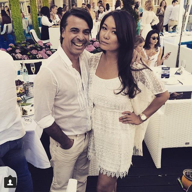 Валид Арфуш с женой