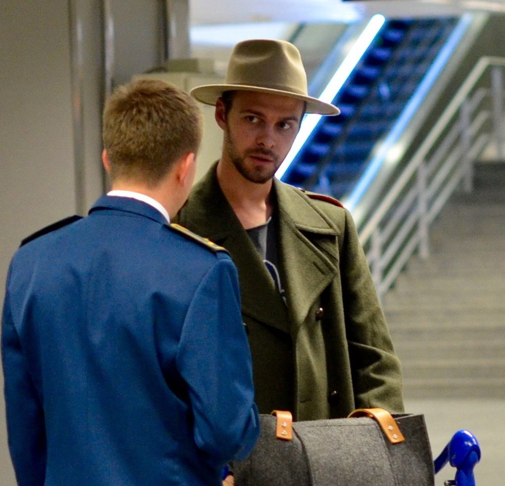 Макса Барских обыскали в аэропорту Борисполя