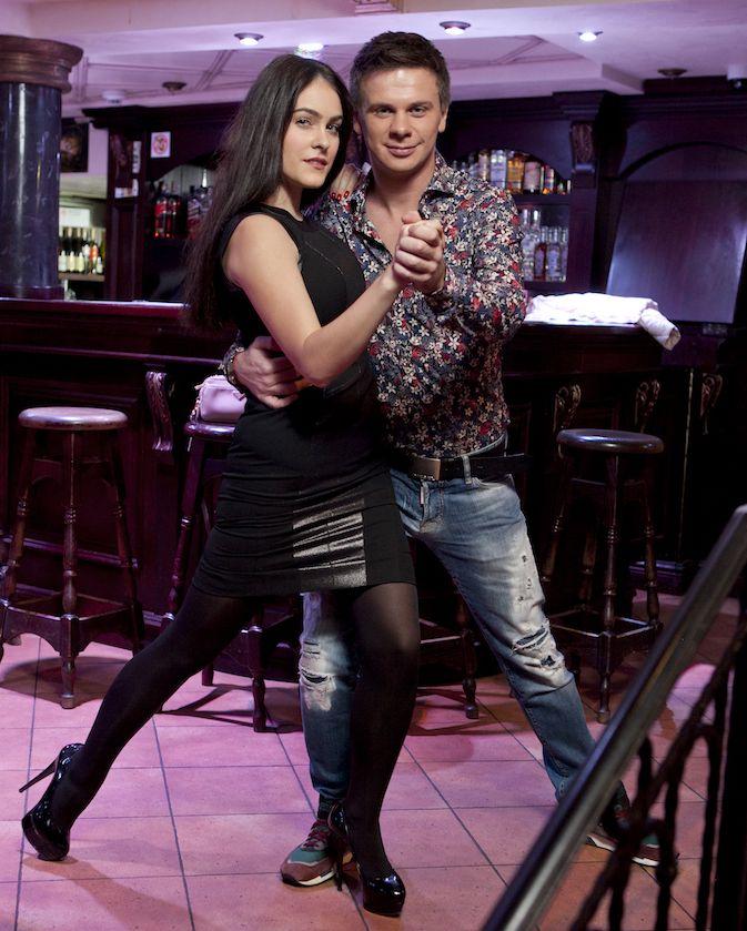 Маша Собко станцевала танго