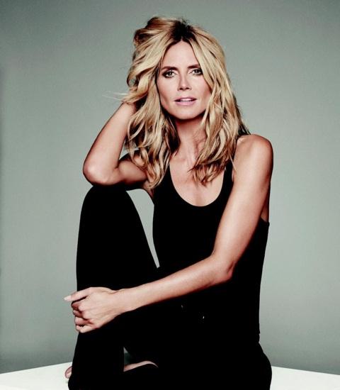 Хайди Клум снялась топлес для рекламы белья собственного бренда
