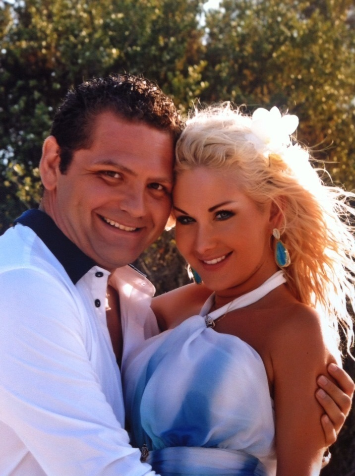 Катя Бужинская и ее муж Димитар Стойчев