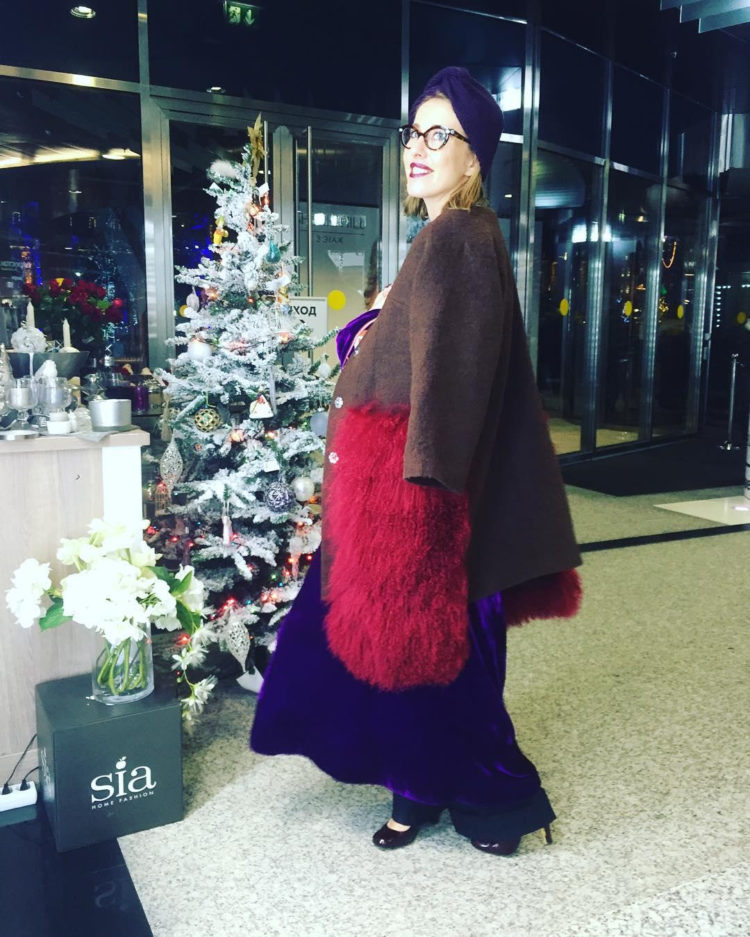 """Ксения Собчак: """"На Новый год хочу зарыться в простынях"""""""