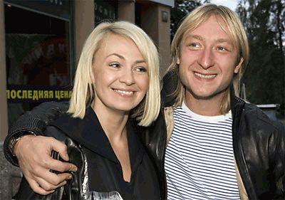 Евгений Плющенко и Яна Рудковская счастливы