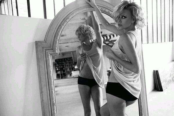 Шарлиз Терон для Elle