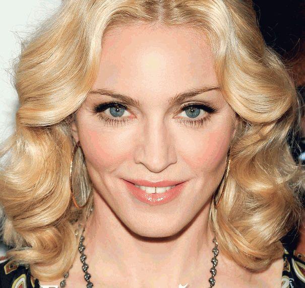 Мадонна улыбается - макро