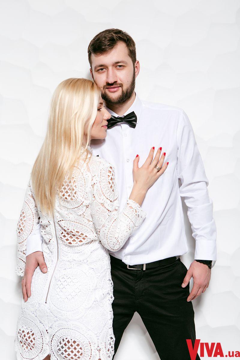 Тамерлан и Алена Омаргалиева в фотосессии для Viva.ua
