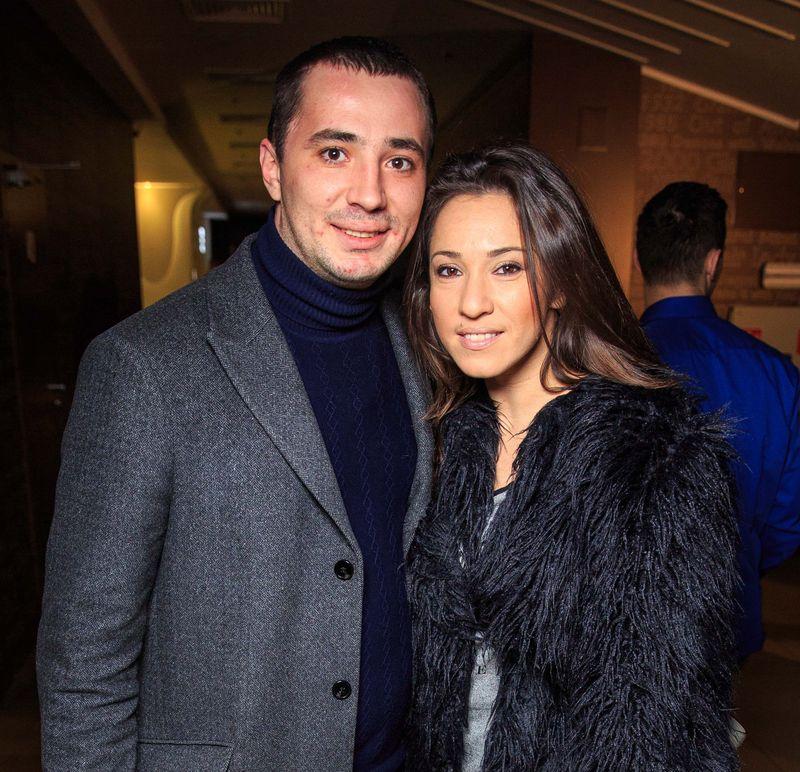 Наталка Карпа и ее жених сходили на премьеру фильма