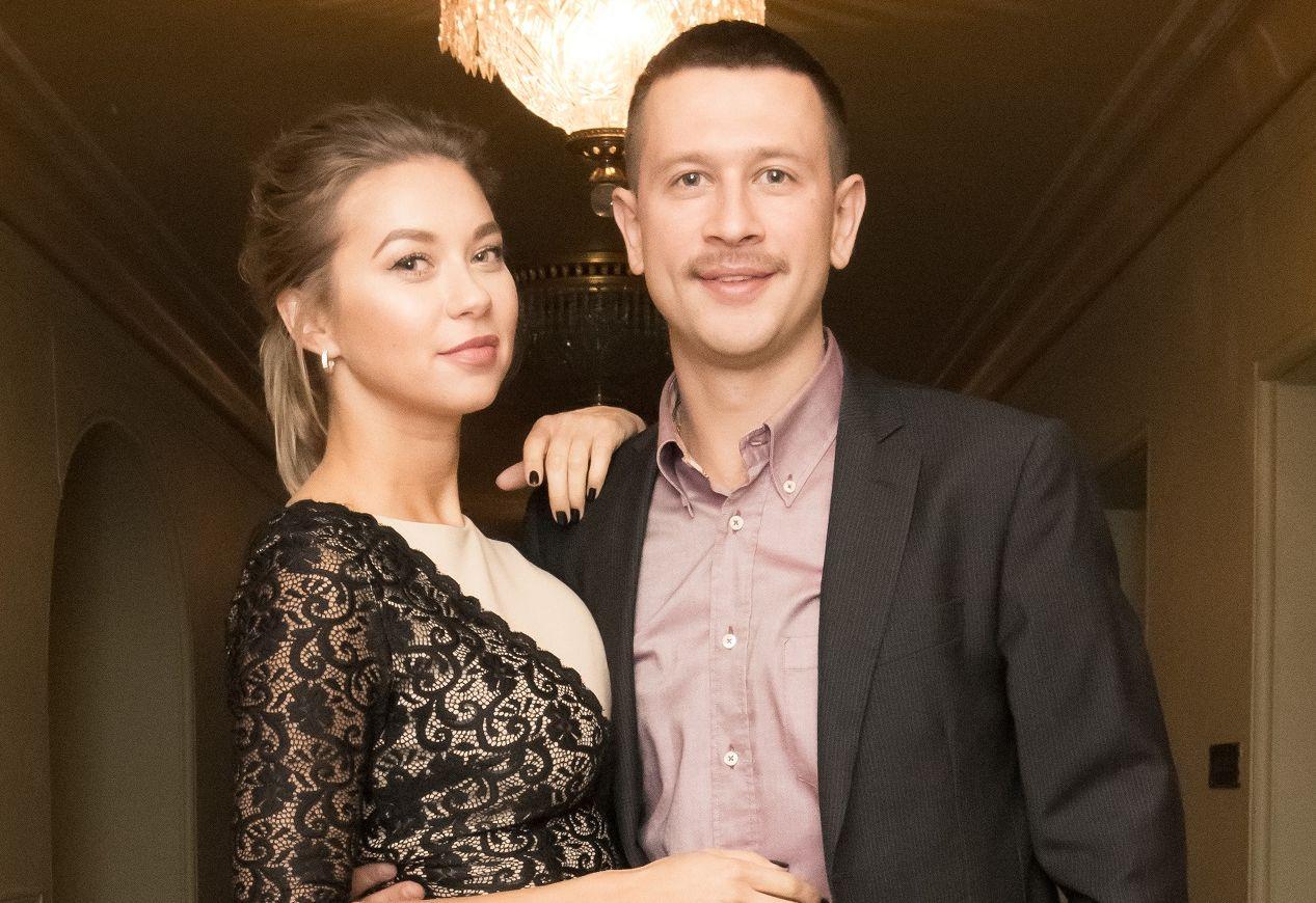 Дмитрий Ступка и его невеста Полина Логунова