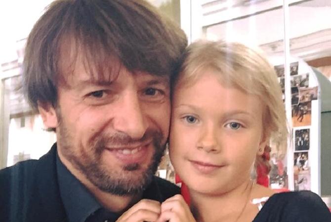 Александр Шовковский и его дочь Саша