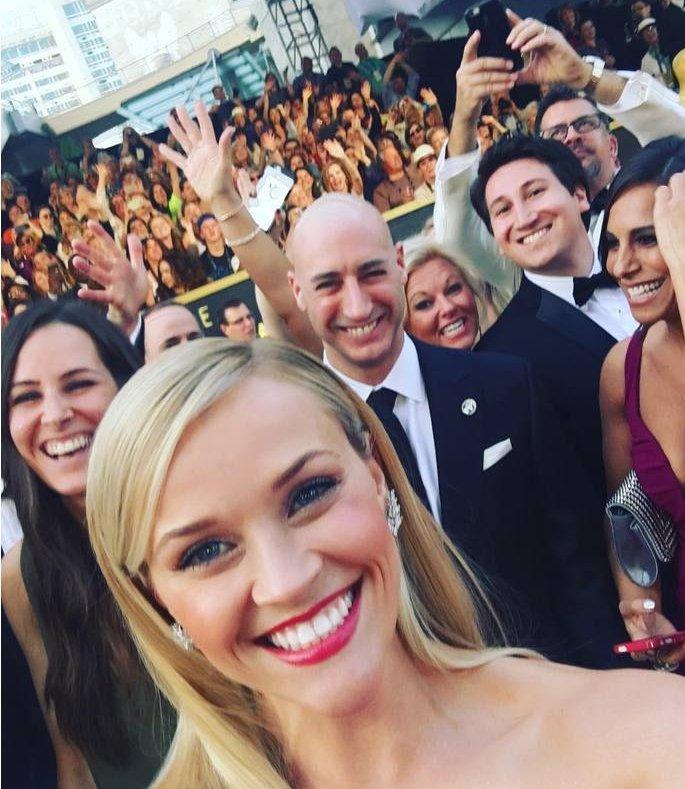 Оскар-2016 в Instagram: что делали звезды за кулисами церемонии