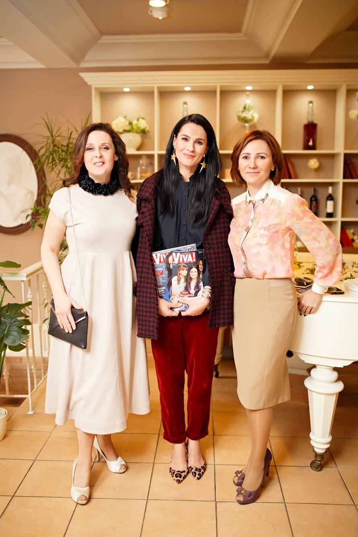 Иванна Слабошпицкая, Маша Ефросинина и Инна Катющенко