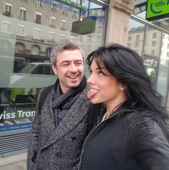 Ольга Романовская и ее муж Андрей
