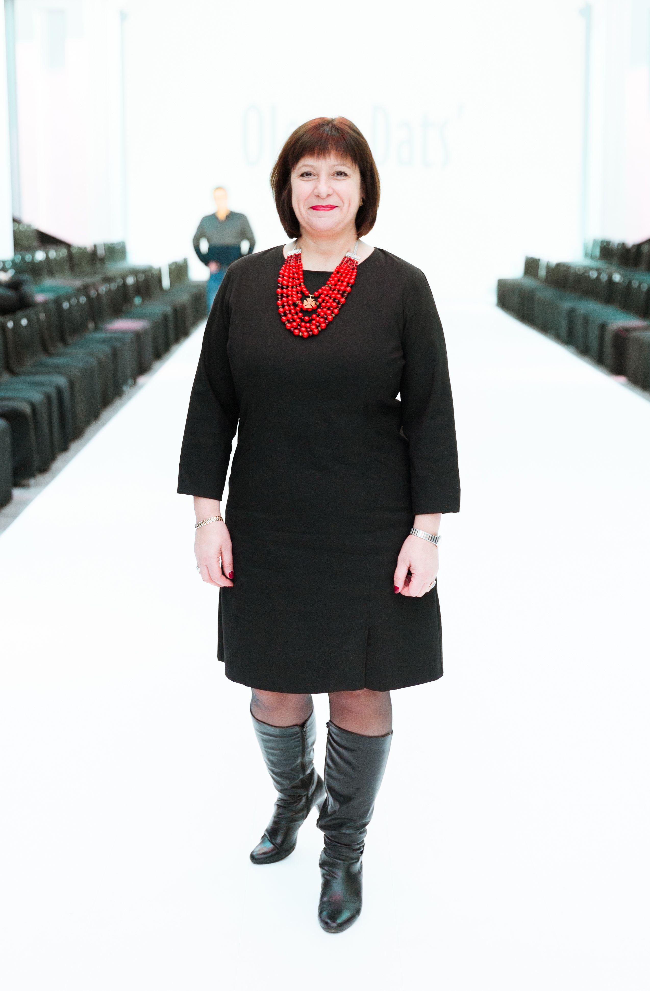 Министр финансов Наталья Яресько посетила показ Olena Dats'