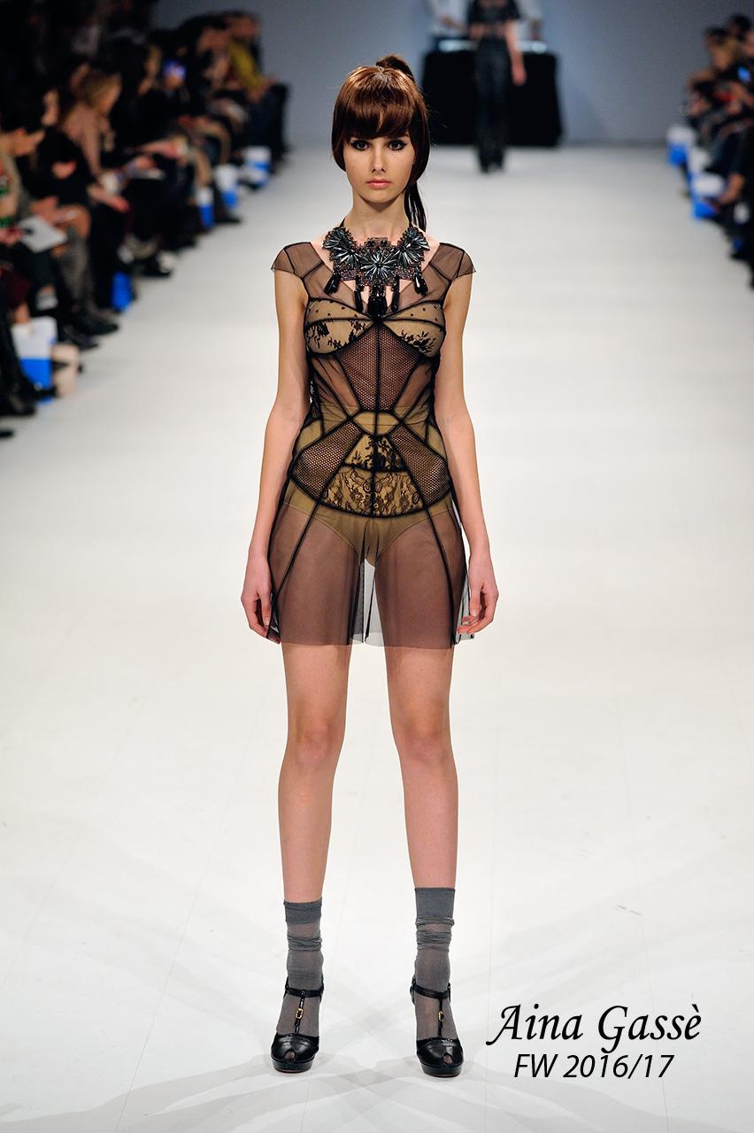Айна Гассе представила новую коллекцию на Ukrainian Fashion Week