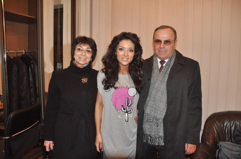 Злата Огневич показала своих родителей-крымчан