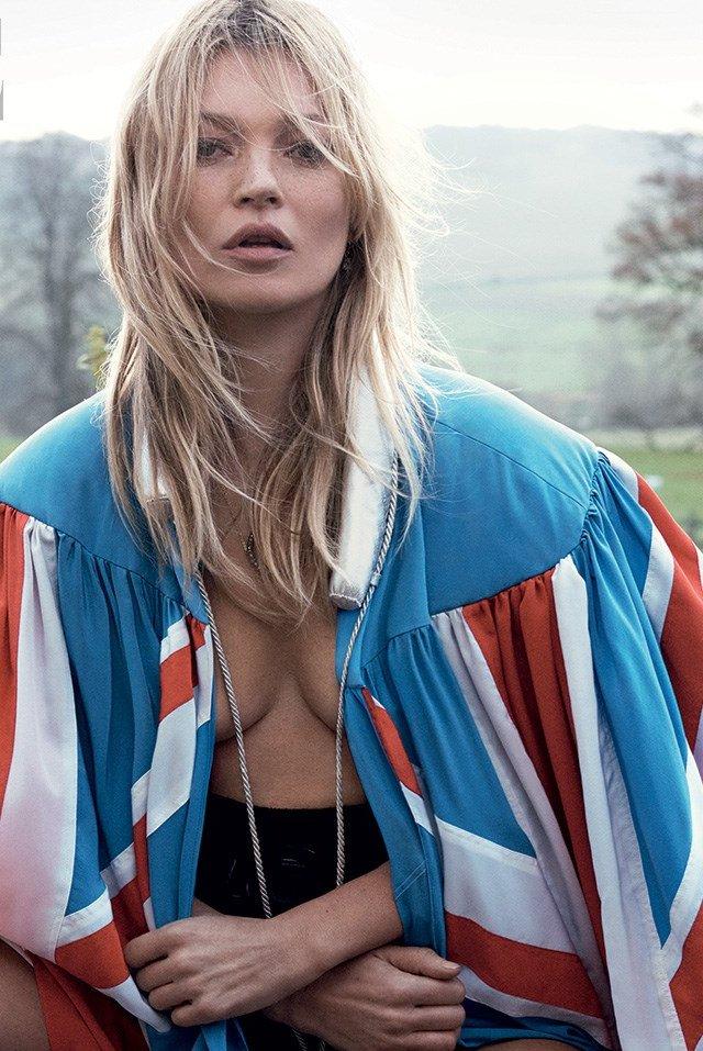 Модный рекорд: Кейт Мосс в 37-й раз украсила обложку Vogue