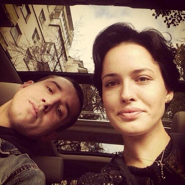 Даша Астафьева и ее брат