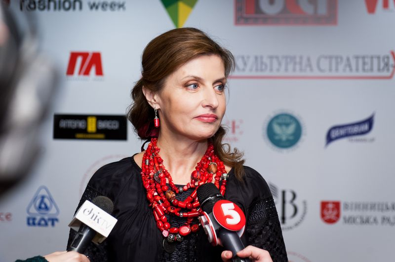Марина Порошенко на показе