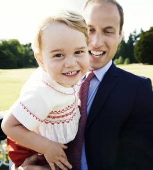 Принц Уильям до сих пор не сказал принцу Джорджу, что однажды он станет королем