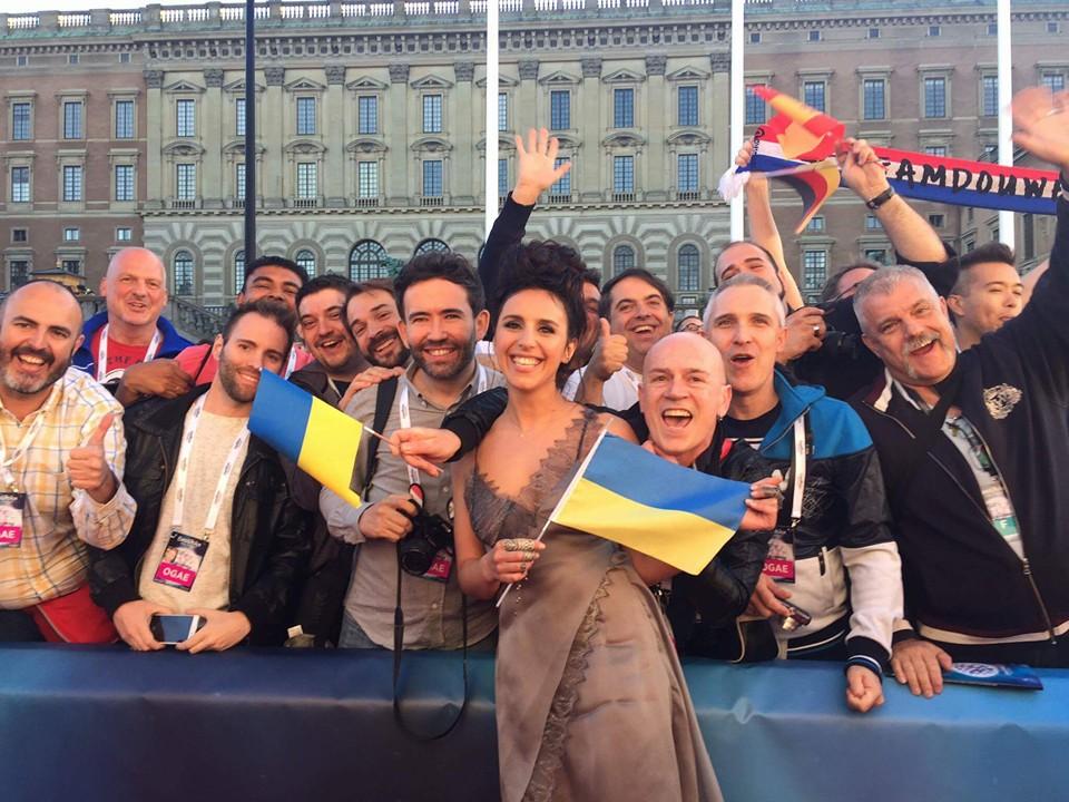 """Джамала лидирует  в рейтинге букмекеров на """"Евровидении-2016"""""""