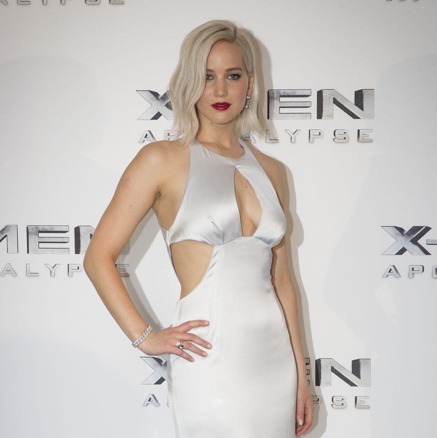 """Дженнифер Лоуренс на премьере """"Люди Икс: Апокалипсис"""""""