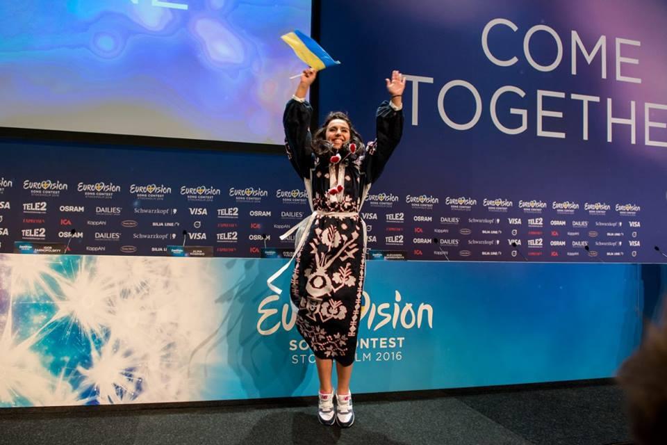 Джамала на Евровидении-2016