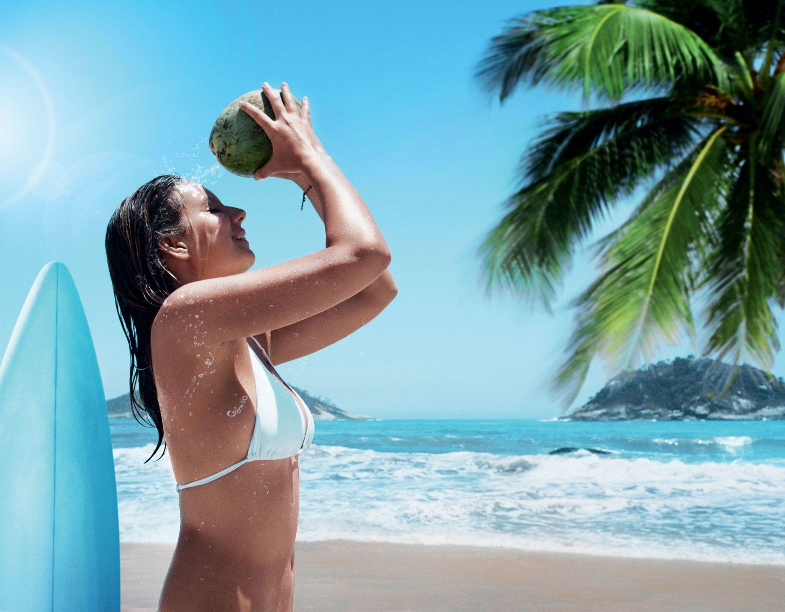 новая линия с кокосом Fa Coconut